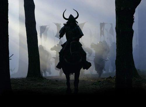 Samurai-horsemen